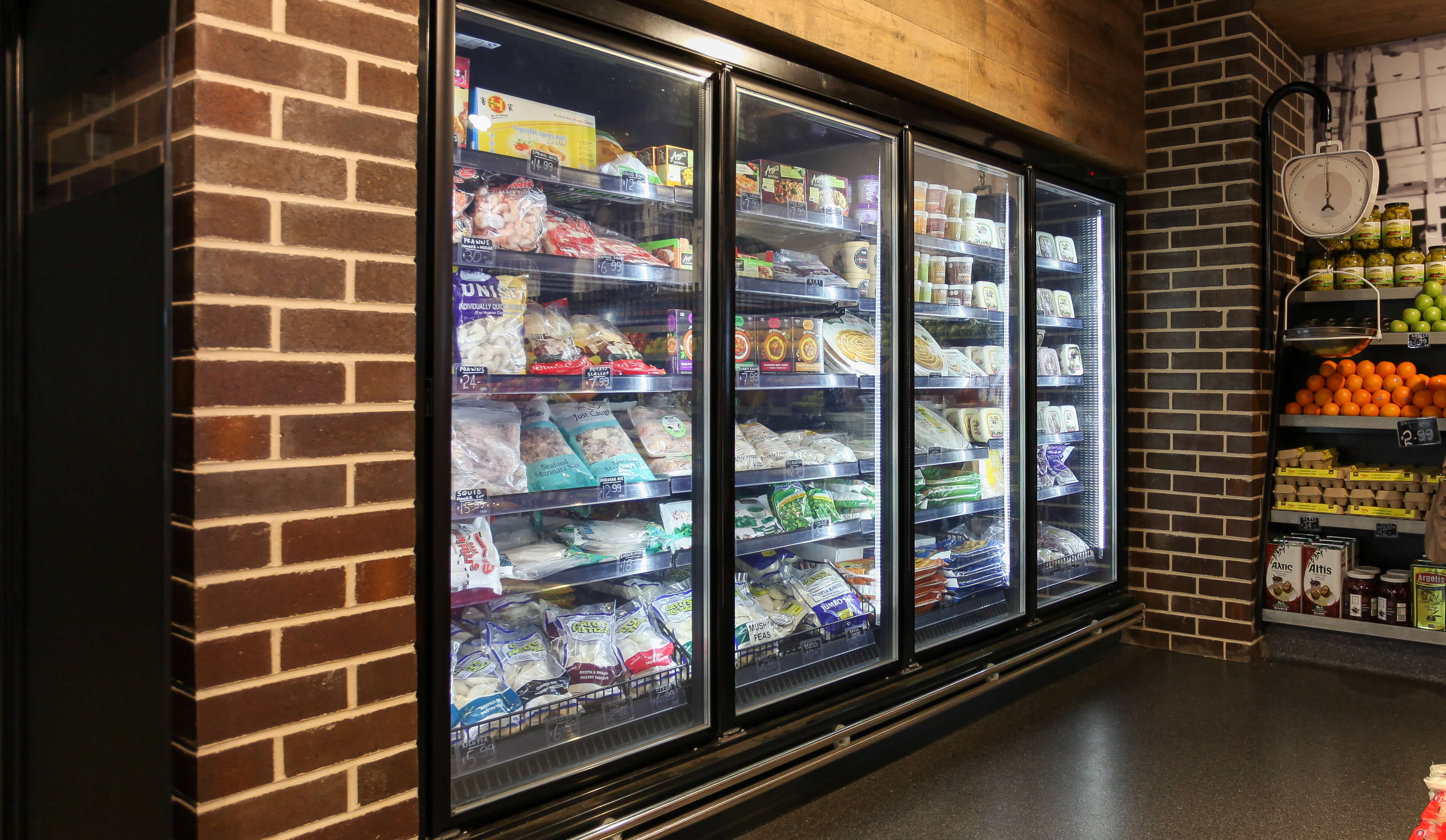 Grocery Cool Rooms